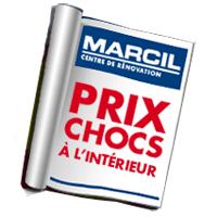 circulaire marcil – centre de rénovation circulaire - flyer - catalogue